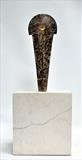 Axe Head l by William Cramer, Sculpture, Bronze