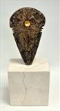 Axe Head ll by William Cramer, Sculpture, Bronze
