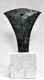 Axe Head lll by William Cramer, Sculpture, Bronze