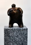 Little Man by Bill Cramer, Sculpture, Bronze