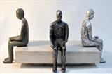 Trilogy by William Cramer, Sculpture, Bronze