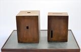 Two Boxes by William Cramer, Sculpture